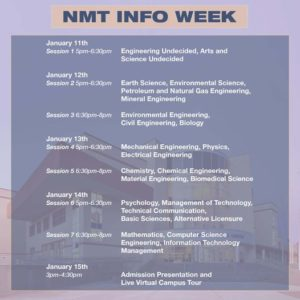 New Mexico Tech Info Week